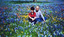 Ron & Marilyn in Bluebonnets